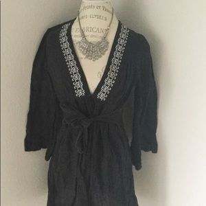 Other - Black Tunic Cover up